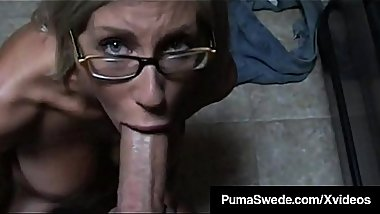 Slutty Talking Big Titty Puma Swede Suck A Big Cock POV!