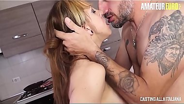 AMATEUR EURO - Spanish MILF Betty Foxxx Takes A Real Deep Anal On Casting