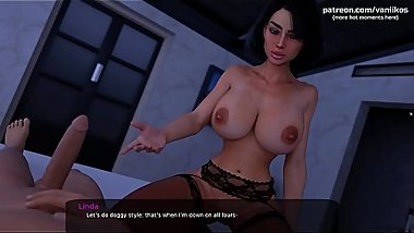 Hot romantic sex with a gorgeous stepmom who loves when her wet tight pussy gets fucked with a young big cock l My sexiest gameplay moments l Milfy City l Part #31