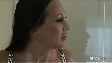 Private Black - Busty Milf Mandy Bright Fucks BBC In Kitchen