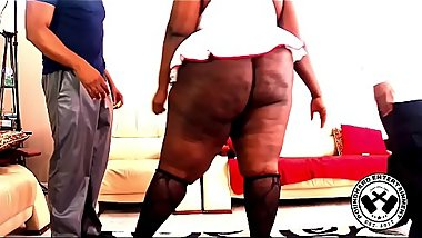 CHOCOLATE BBW HUGE BOOTY NURSE PROMO