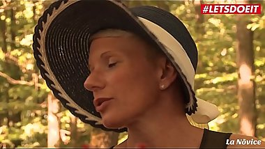 LETSDOEIT - Big Ass French MILF Anal Fucked On Picnic Sex
