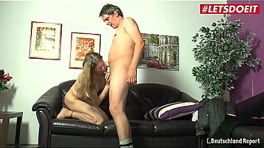 LETSDOEIT - German Hot Milf Gets Fucked Hard By Her Lover