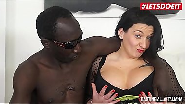 LETSDOEIT - Italian BBW Milf Takes a BBC On the Casting Couch