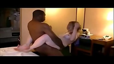 Amateur hot  wife interracial