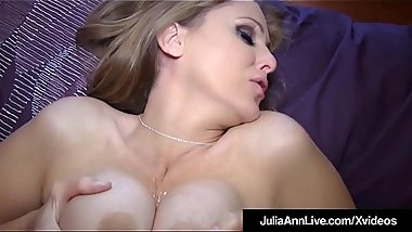 Expert Cock Sucker Milf Julia Ann Blows Your Dick POV!