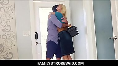Hot Cousin Sister fucked by Brother in kitchen (pt 1) - Watch part 2 visit Familystrokesvid.com