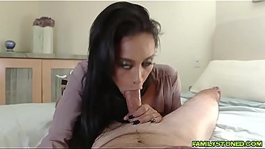 Stepson learning to fuck from behind doggystyle!