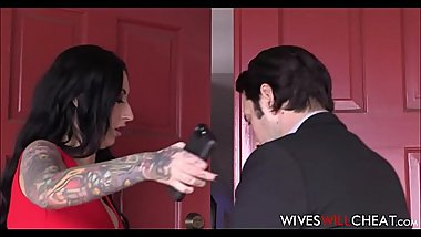 Hot Big Tits MILF With Tattoos Lily Lane Cheats On Husband With His Co Worker
