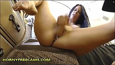 Hard DP Made Horny MILF Squirt Really Creamy