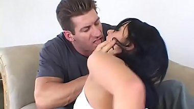 Melissa Lauren lustful rough anal fuck and cumshot