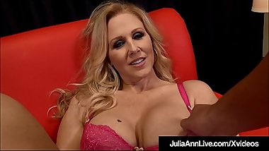 Big Boobed Blonde Milf Julia Ann Strokes &amp_ Blows Your Dick!