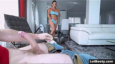 Bubble culo and huge tits sexy latina MILF Julianna Vega
