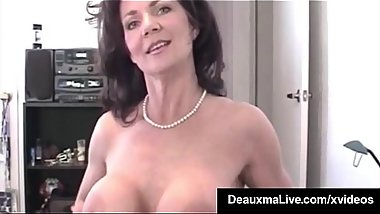 Horny Cougar Deauxma POV Mouth Fucks A Guy &amp_ Gets A Cum Bomb