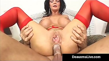 Horny Housewife Deauxma Takes a Cock In Her Juicy Asshole!