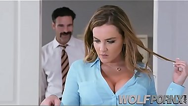 The horny of my secretary Natasha Nice gives me her big ass for an increase