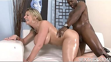 Nice Ass Sara Jay Banging Black Guy